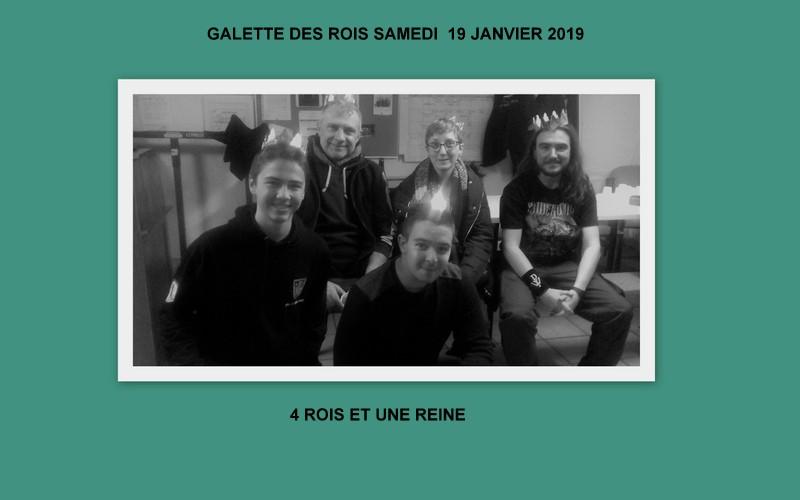 Galette des rois 19 janvier 2019