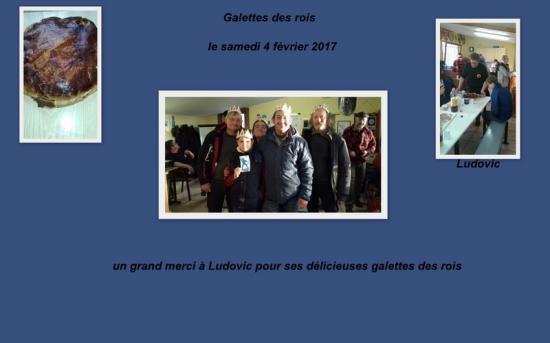Galette des rois le 4 fevrier2017