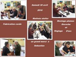 Passage de fle ches avril 20161